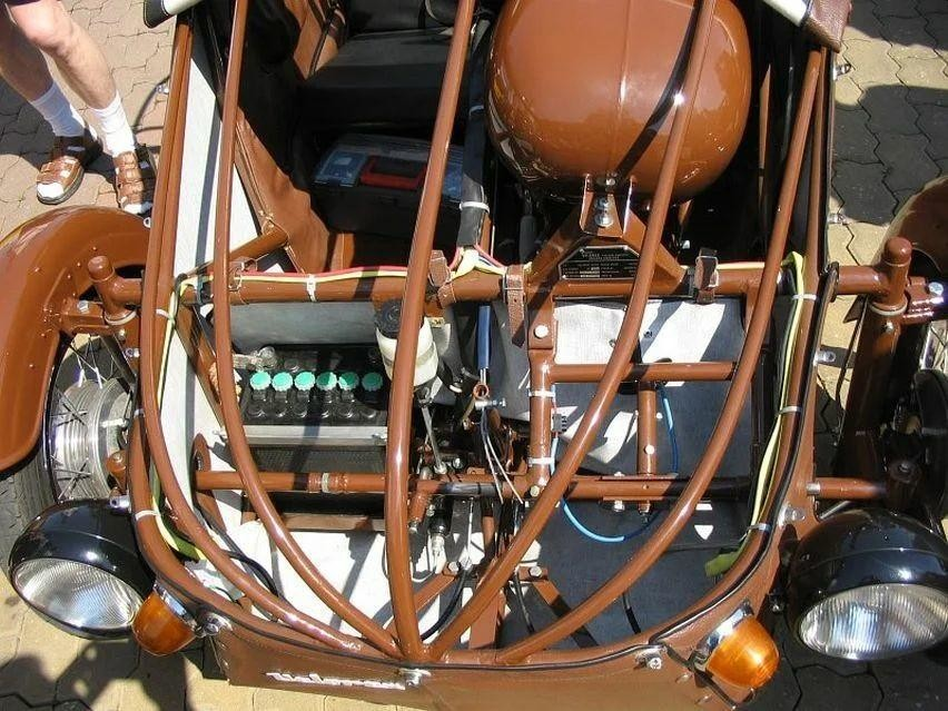 Самое интересное : Velorex с мотором от мотоцикла «JAWA»