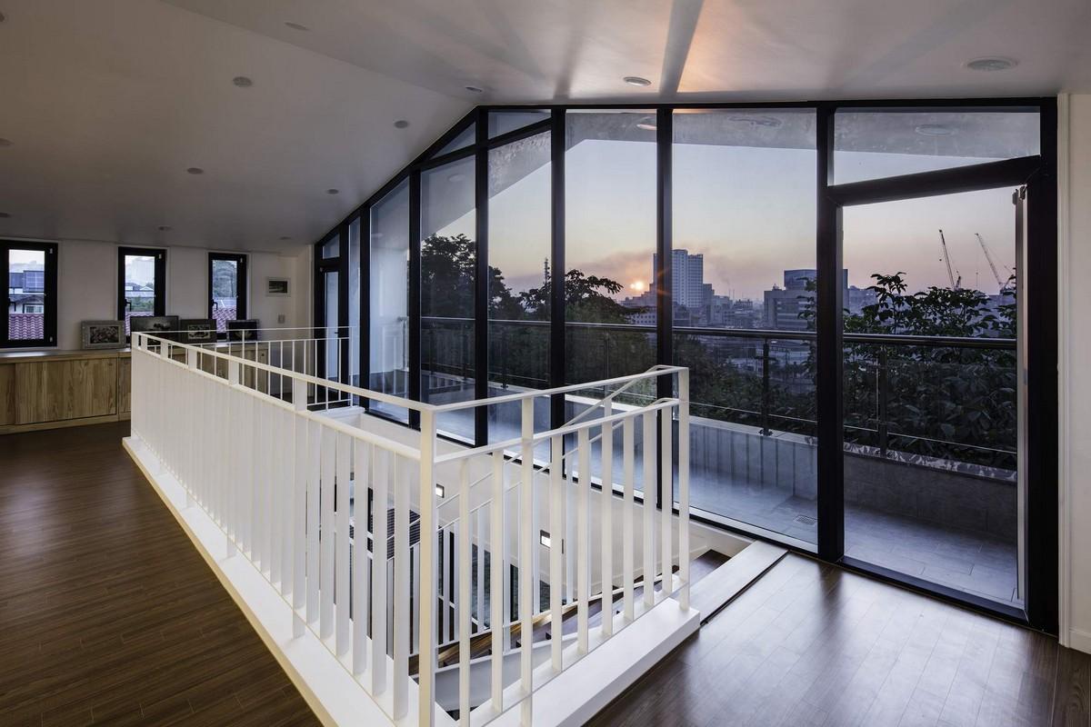 Самое интересное : Необычный проект одноэтажного кирпичного дома