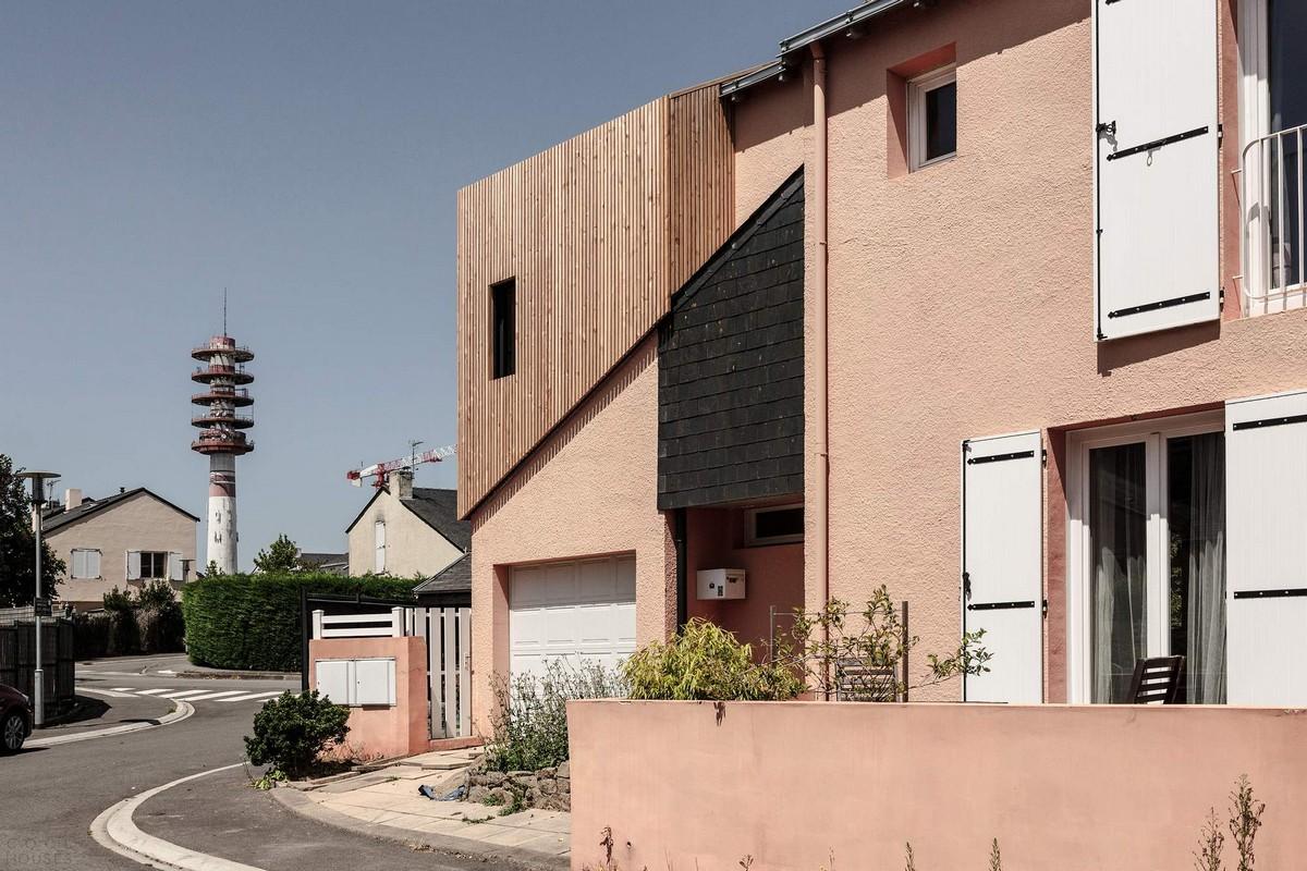 Самое интересное : Увеличение пространства в частном доме во Франции