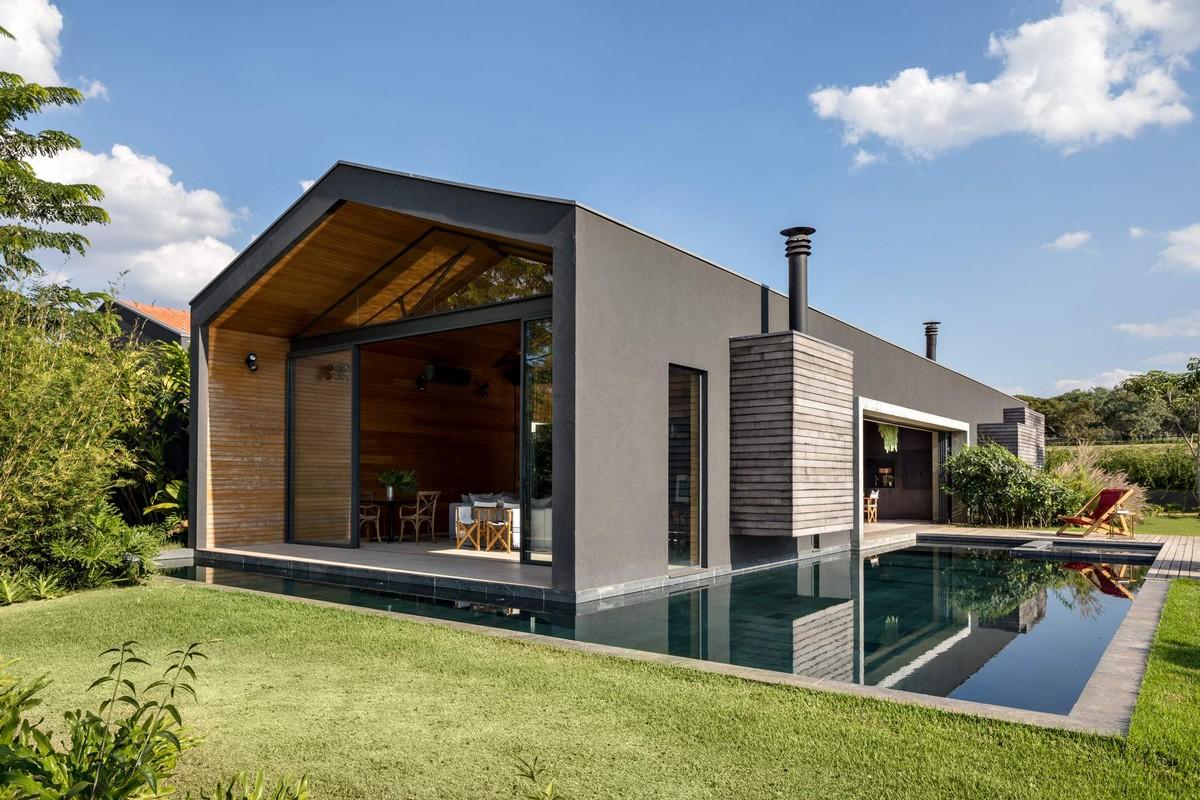 Самое интересное : Дом для отдыха на конном ранчо в Бразилии