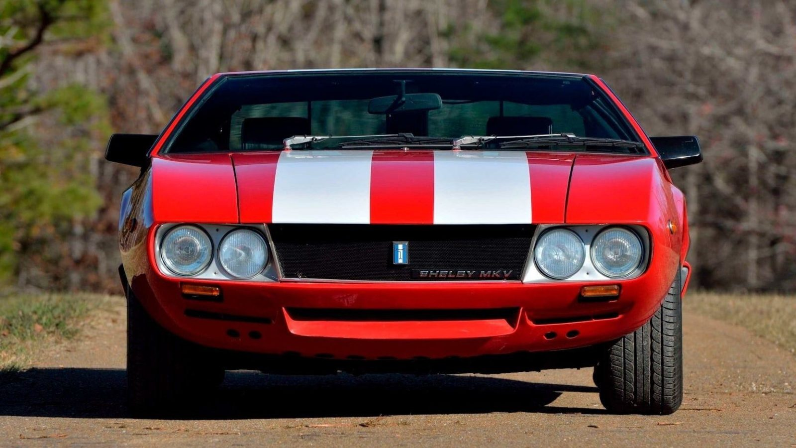 Самое интересное : Спорткар De Tomaso Mangusta Shelby Mk V Prototype 1969 года
