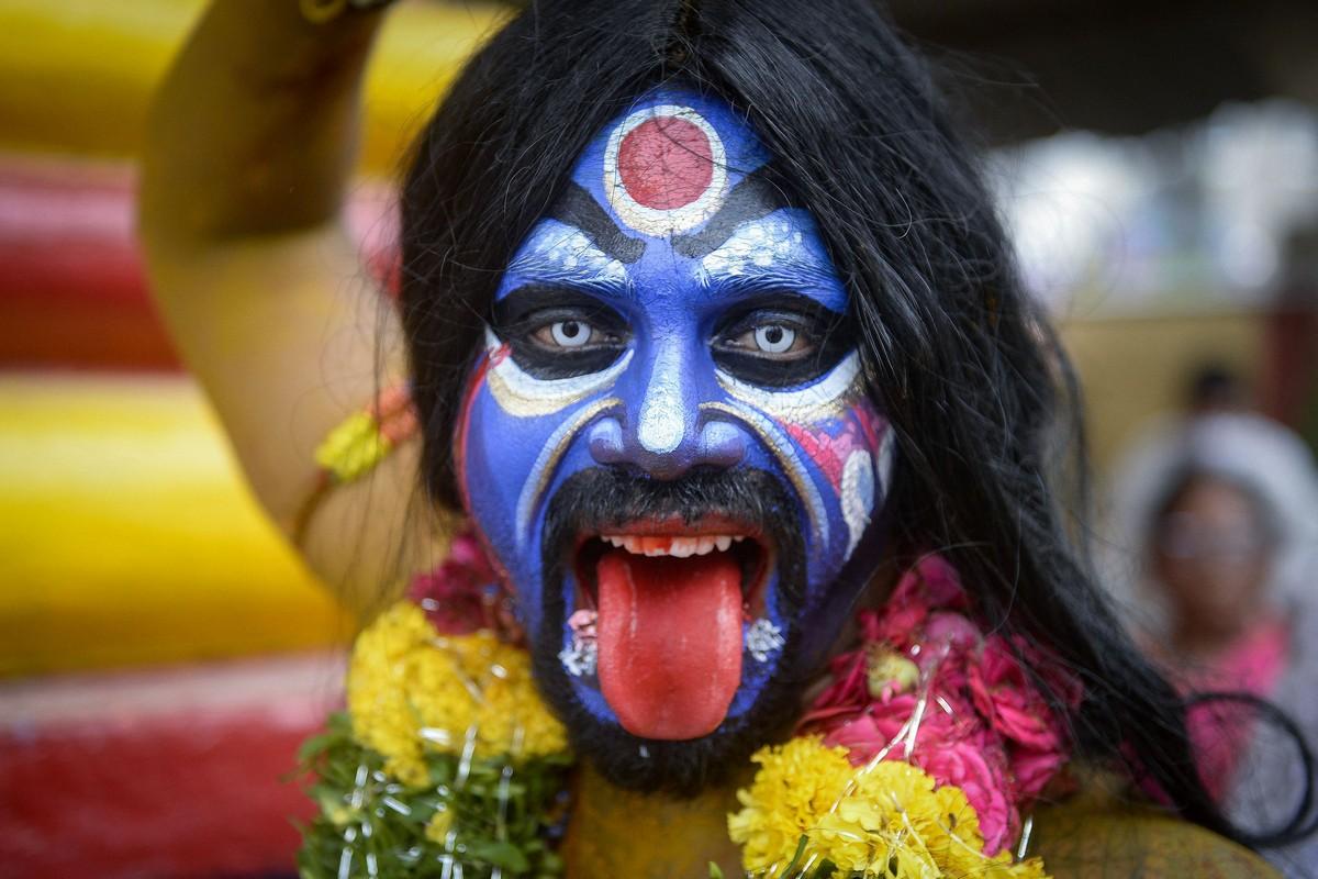 Самое интересное : Повседневная жизнь в Индии полна красок и очень колоритна